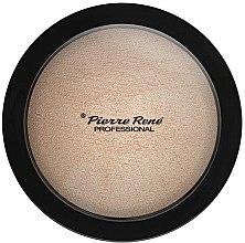 Voňavky, Parfémy, kozmetika Púderový rozjasňovač na tvár - Pierre Rene Face Highlighting Powder