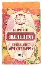 "Voňavky, Parfémy, kozmetika Mydlo lisované za studena ""Grapefruit"" - Yamuna Grapefruit Cold Pressed Soap"
