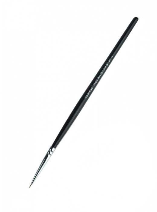 Štetec na dizajn nechtov - Semilac Nail Art Kolinsky Brush 00-1 — Obrázky N1