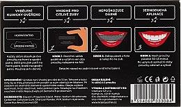 Bieliace pásky na zuby - VitalCare White Pearl Charcoal — Obrázky N2