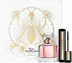 Voňavky, Parfémy, kozmetika Guerlain Mon Guerlain Florale - Sada (edp/50ml + mascara/8.5ml)