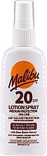 Voňavky, Parfémy, kozmetika Sprejový lotion na telo - Malibu Lotion Spray SPF20