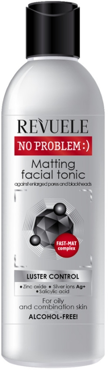 Matujúce tonikum na tvár - Revuele No Problem Matting Facial Tonic