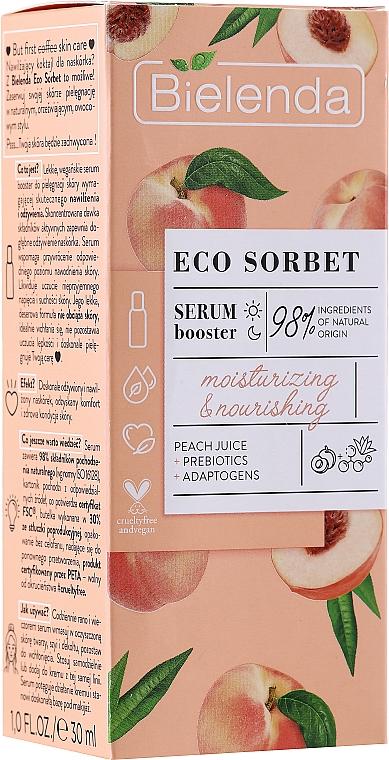 Hydratačné a výživné sérum na tvár - Bielenda Eco Sorbet Moisturizing & Nourishing Serum Booster
