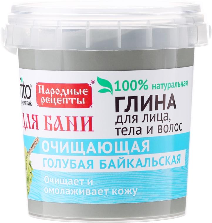 Modrá bajkalská hlina na tvár, telo a vlasy, na kúpanie - Fito Kozmetic