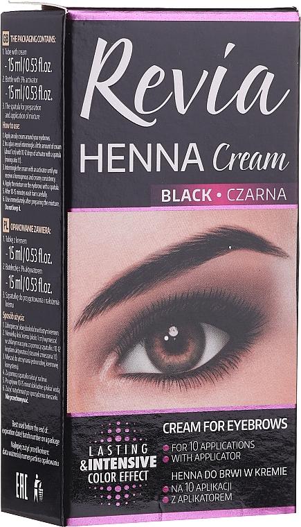 Henna na obočie v kréme - Revia Eyebrows Henna
