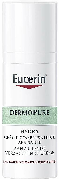 Upokojujúci krém na tvár - Eucerin DermoPure Hydra Soothing Compensating Cream