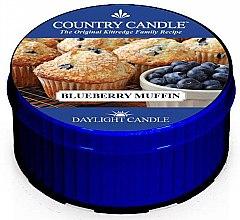 Voňavky, Parfémy, kozmetika Čajová sviečka - Country Candle Blueberry Muffin Daylight