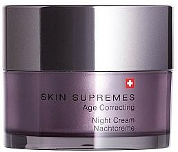 Voňavky, Parfémy, kozmetika Nočný krém na tvár - Artemis of Switzerland Skin Supremes Age Correcting Night Cream