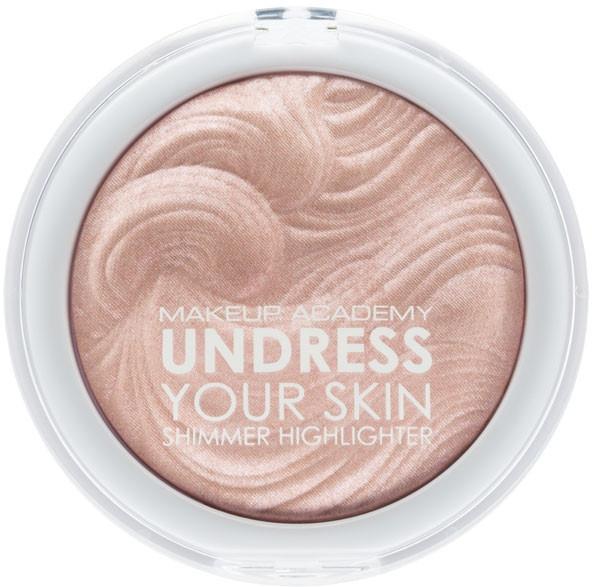 Rozjasňovač na tvár - MUA Makeup Academy Shimmer Highlighter Powder