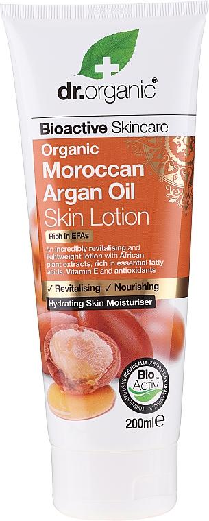Lotion na telo s arganovým olejom - Dr. Organic Bioactive Skincare Organic Moroccan Argan Oil Skin Lotion — Obrázky N1