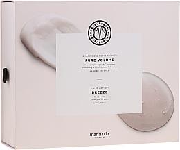 Voňavky, Parfémy, kozmetika Sada - Maria Nila Pure Volume Presentbox (sh/350ml+cond/300ml+h/soap/300ml)