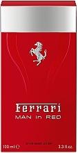 Voňavky, Parfémy, kozmetika Ferrari Man in Red - Lotion po holení