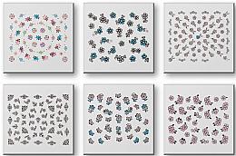 Voňavky, Parfémy, kozmetika Sada nálepiek na nechty 42942 - Top Choice Nail Decorations Stickers Set