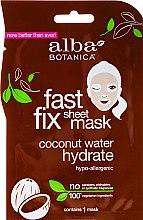 Voňavky, Parfémy, kozmetika Kokosová hydratačná maska na tvár - Alba Botanica Fast Fix Coconut Hydrate Sheet Mask