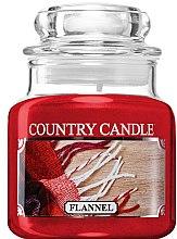 Voňavky, Parfémy, kozmetika Vonná sviečka v pohári - Country Candle Flannel