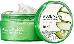 Voňavky, Parfémy, kozmetika Hydratačný gél na tvár a telo s aloe vera - SNP Intensive Snail Soothing Gel