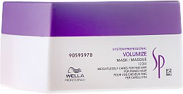 Voňavky, Parfémy, kozmetika Maska na dodanie objemu - Wella Professionals Wella SP Volumize Mask
