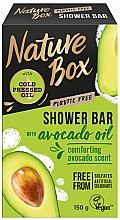 Voňavky, Parfémy, kozmetika Prírodné tuhé mydlo - Nature Box Avocado Oil Shower Bar