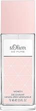Voňavky, Parfémy, kozmetika S.Oliver So Pure Women - Dezodorant