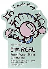 Voňavky, Parfémy, kozmetika Textilná maska na tvár s perlovým extraktom - Tony Moly I Am Pearl Sheet Mask
