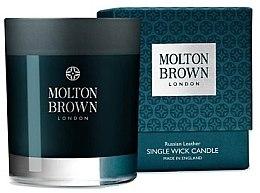 Voňavky, Parfémy, kozmetika Molton Brown Russian Leather Single Wick Candle - Parfumovaná sviečka