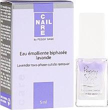 Voňavky, Parfémy, kozmetika Dvojfázový odstraňovač kutikuly - Peggy Sage Lavender Two-Phase Cuticle Remover
