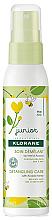 Voňavky, Parfémy, kozmetika Sprej kondicioner na úpravu vlasov - KloraneJunior Detangling Care Spray Acacia Honey