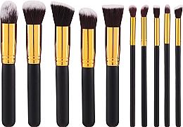 Voňavky, Parfémy, kozmetika Sada štetcov na make-up, 10 ks - Fascination