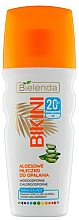 Voňavky, Parfémy, kozmetika Mlieko na opaľovanie - Bielenda Bikini Aloe Sun Lotion SPF 20
