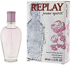 Voňavky, Parfémy, kozmetika Replay Jeans Spirit! For Her - Toaletná voda