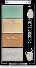 Voňavky, Parfémy, kozmetika Paleta korektorov a rozjasňovač - Dermacol Corrector Palette