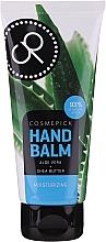 Voňavky, Parfémy, kozmetika Balzam na ruky s extraktom z aloe vera a bambuckého masla - Cosmepick Hand Balm Aloe Vera&Shea Butter