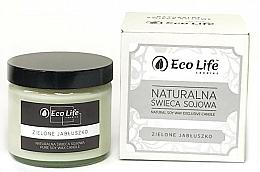 """Voňavky, Parfémy, kozmetika Vonná sviečka """"Zelené jablko"""" - Eco Life Candles"""