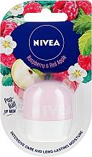 Voňavky, Parfémy, kozmetika Balzam na pery - Nivea Pop-Ball Raspberry & Apple Lip Balm