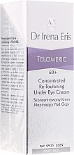Voňavky, Parfémy, kozmetika Koncentrovaný krém-lifting na pokožku okolo očí - Dr Irena Eris Telomeric Concentrated Re-Tautening Eye Cream SPF20