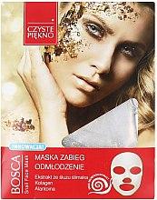 Voňavky, Parfémy, kozmetika Maska na tvár so slimákom - Czyste Piekno Bosca Snail Face Mask