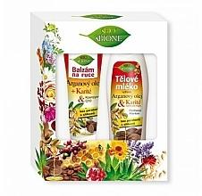 Voňavky, Parfémy, kozmetika Sada - Bione Cosmetics Argan Oil (h/balm/200ml + b/lot/500ml)