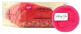 Voňavky, Parfémy, kozmetika Odličovací mini uterák, ružový - Rolling Hills Mini Makeup Remover Pink