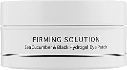 Voňavky, Parfémy, kozmetika Hydrogelové náplasti na oči s extraktom z morskej uhorky a práškom z čiernej perly, štandardná veľkosť - BeauuGreen Sea Cucumber & Black Hydrogel Eye Patch