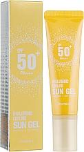 Voňavky, Parfémy, kozmetika Gél na telo s ochranou pred slnkom SPF 50+ - Deoproce Hyaluronic Cooling Sun Gel
