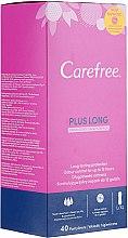 Voňavky, Parfémy, kozmetika Hygienické každodenné vložky s vôňou sviežosti, 40 ks - Carefree Plus Long Fresh Scent