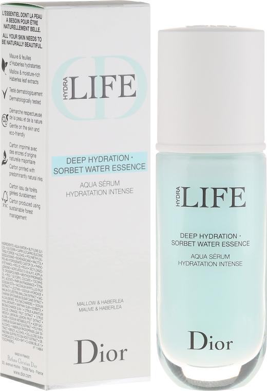 Sérum-sorbet 3-B-1 - Dior Hydra Life Deep Hydration Sorbet Water Essence