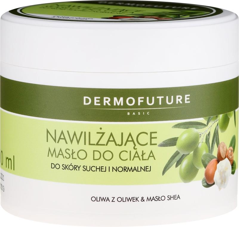 Hydratačný olej na telo pre suchú a normálnu pokožku - DermoFuture