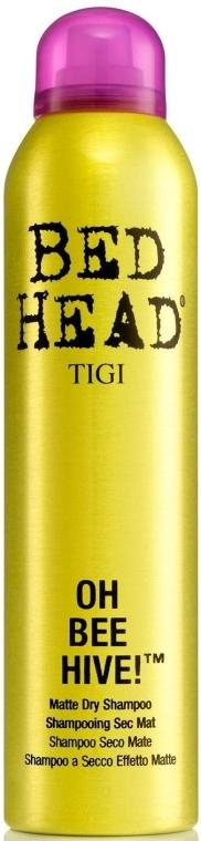 Suchý šampón pre objem vlasov - Tigi Bee Hive Matte Dry Shampoo