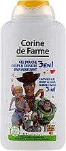 """Voňavky, Parfémy, kozmetika Šampón a sprchový gél """"Príbeh hračiek"""" - Corine De Farme Toy Story 4 Shower Gel"""