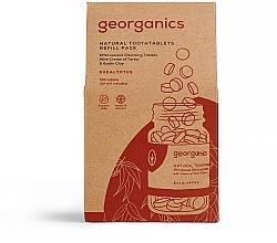 """Voňavky, Parfémy, kozmetika Tablety na čistenie zubov """"Eukalyptus"""" - Georganics Natural Toothtablets Eucalyptus (vymenný blok)"""