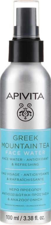"""Antioxidantná a osviežujúca voda na tvár """"Grécky horský čaj"""" - Apivita Greek Mountain Tea Face Water"""