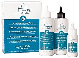 Voňavky, Parfémy, kozmetika Sada na trvalú onduláciu vlasov - L'anza Healing Texture Sure Success Acid Perm (neutralizer/118ml + lot/82ml + activator/21ml)