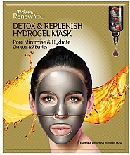 Voňavky, Parfémy, kozmetika Hydrogélová maska na tvár - 7th Heaven Renew You Detox Replenish Hydrogel Mask